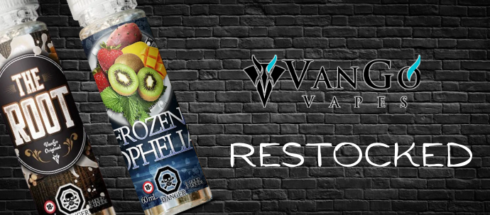 Vango Vapes Restocked!